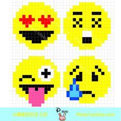 Emoji Perler Bead Patterns