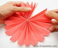 Step 12 Accordion Paper Flowers