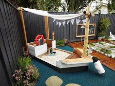 Beautiful Backyard Playground Ideas For Kids There are many methods to spruce up a backyard, which makes it an integral portion of your home. Read Beautiful Backyard Playground Ideas For Kids Modern Backyard, Backyard For Kids, Backyard Landscaping, Playground Design, Backyard Playground, Playground Ideas, Children Playground, Natural Playground, Kids Play Area