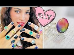 [Video] super fun and easy diy glue rings - wife on the go Camping Crafts, Fun Crafts, Diy And Crafts, Diy Rings Easy, Easy Diy, Fun Diy, Diy Glue, Recycling, Clear Glue