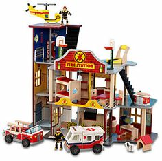 KidKraft Deluxe Fire Rescue Set --cool!