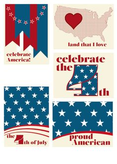 FREE  4th of July Printables by Scrappystickyinkymess