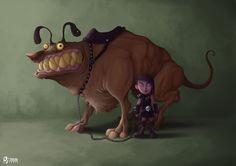 Gothic Pet Picture  (2d