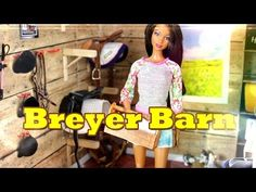 How to Make Doll a Breyer Horse Barn - YouTube