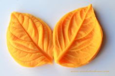 Silicone mold hydrangea leaves Veiner mold mold polymer clay fondant sugar flowers