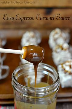 You know how chefs always say adding a little coffee to chocolate really brings out the chocolate? That's where this Easy Espresso Caramel Sauce comes in.