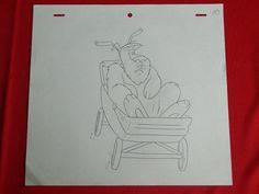 Dennis The Menace Dic 1986 Cartoon Animation Production Pencil Drawing 007 | eBay