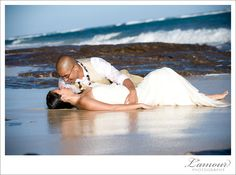 Hawaii Wedding Day After Session