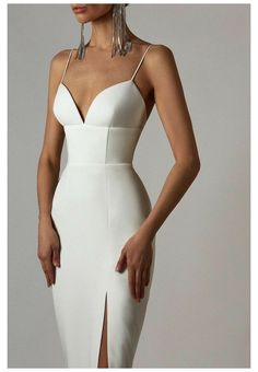 Glamouröse Outfits, Classy Outfits, Stylish Outfits, Elegant Dresses, Pretty Dresses, Elegant Outfit, Formal Dresses, Kleidung Design, Look Fashion