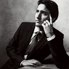 Following in his father's footsteps, Justin Trudeau has beaten the odds to become the youthful, optimistic face of Canada.