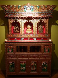 Awesome Tibet Altar Cabinet