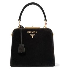 Prada Crystal-embellished velvet tote ❤ liked on Polyvore featuring bags, handbags, tote bags, prada tote bag, tote purses, prada tote, tote bag purse and velvet purse