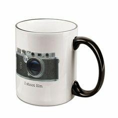 I Shoot Film Mug, $12