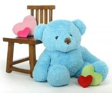 Orange teddy bear galations 62 orange anaranjado pinterest sammy chubs extra plump and adorable sky blue teddy bear 38in altavistaventures Image collections