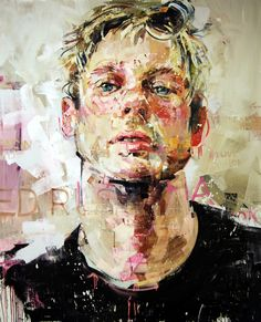 "Saatchi Art Artist: Andrew Salgado; Oil 2013 Painting ""MODERN PAINTERS"""