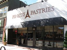 Finesse Pastries, 968 Elm st., Manchester, NH.  www.finessepastries.com  Best Hot Chocolate….real deal.