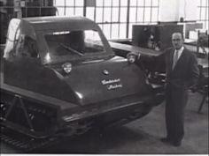 Joseph-Armand Bombardier | CVE -- Joseph-Armand Bombardier a fondé une solide entreprise familiale et inventé la motoneige.