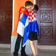 """""""My Serbian friend was walking hand in hand with his Croatian girlfriend,"""" Reddit user EvolvedBacteria explained. """"When an old lady asked her how she could dare to walk next to a Serb, she kissed him."""""""