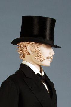 Man's top hat, American, ca. 1904, KSUM 1983.1.1924.