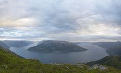 Fjords in Hardanger, Norway. By Jo Bjørnar Hausnes on 500px