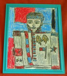 Haitian Oil Painting Alexandre Petion H Escarment Modernist Cubism Portrait Cubist Paintings, Cubism Art, Portrait, Folk Art, Mid-century Modern, Antiques, Ebay, Oil, Vintage