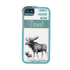 I Protect And #Preserve 3Nature #Turquoise #Iphone 5 from #zazzle