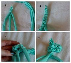 Make a braided rug
