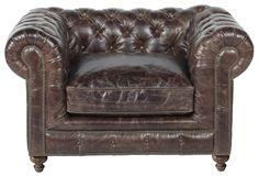 Bespoke Finn Chair by Elite Leather