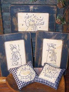 Rustic Threads Primitive Stitchery Patterns