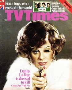 So much more than TV times Danny La Rue, Transvestite Pictures, Pop Posters, Tv Times, Tv On The Radio, Tgirls, Boys Who, Magazine Covers
