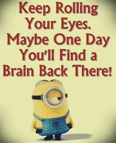 No matter how many times you watch the funny faces of these minions each time they look more funnier…. So we have collected best Most funniest Minions images collection . Read Minions images with Quotes-Humor Memes and Jokes Minions Images, Funny Minion Pictures, Funny Minion Memes, Minions Quotes, Memes Humor, Funny Texts, Minions Minions, Minion Humor, Funny Humor