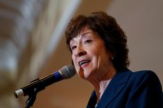 Republican Senator Susan Collins, who helped torpedo President Donald Trump& effort to repeal Obamacare, said on Sunday she was leaning towards a & vote on the Senate budget resolution to advance tax reform. Houston, Susan Collins, Ex President, Clinton Campaign, Mother Jones, Supreme Court Justices, Republican Senators, Story Video, It Hurts
