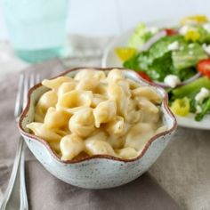 Love Panera's mac and cheese?  Make it from scratch and enjoy it from the comfort of your home.