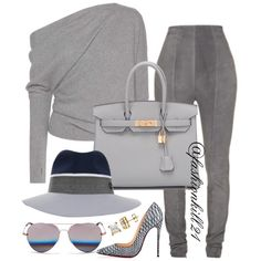 |She Is So DOPE| DETAILS: Sweater #Tomford Pants #Balmain Bag #Hermes Shoes #Christianlouboutin Frames #Mathewwilliamson Hat #Maisonmichel #styledbyfashionkill21