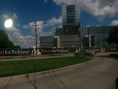 I STAND FOR PARKLAND- Construction coming to a close nicely at the new hospital.