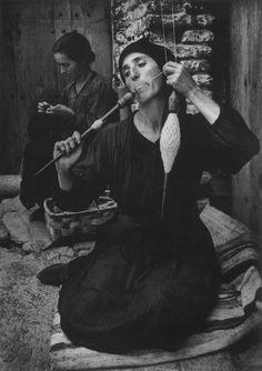 W. Eugene Smith - The Spinner, Deleitosa, Spain, 1950.