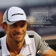 Jenson Button #Fit4F1