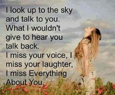 I miss everything about you quotes.