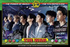 EXO • The War • The Power of music • itunes digital booklet