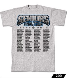 A selection of our class list designs. Get your class names printed with cool designs onto tees and hoodies! Senior Class Shirts, Class List, Class Of 2018, Shirt Ideas, Cool Designs, Shirt Designs, Hoodies, Tees, Mens Tops