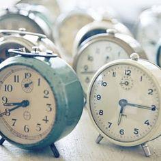 Old-fashioned alarm clock.