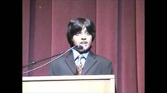 Lil' MDGs - Motivational speech by 11-year old kid CEO/Founder Dylan Mahalingam, via YouTube.