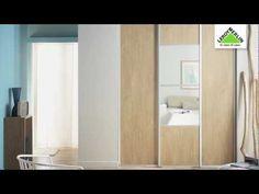 ▶ Come posare ante scorrevoli per realizzare una cabina armadio - Leroy Merlin - YouTube
