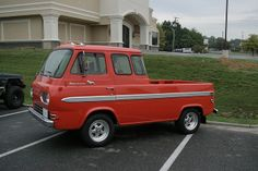 """Extended Cab~modified Econoline pick-up ~""""IDEA""""~"""