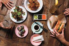 Stateside - Capitol Hill - [Duck rolls, chili-cumin pork ribs, master stock crispy chicken, and the classic banh mi.]