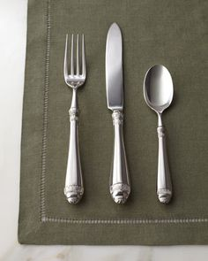 "20-Piece ""Renaissance"" Flatware Service at Horchow."