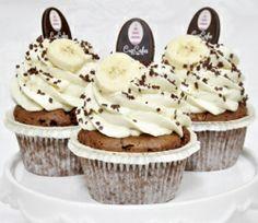 Bananen Cupcake