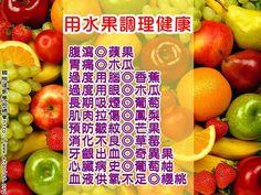 用水果調理健康