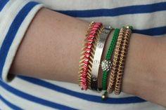 DIY | Scale Bracelet