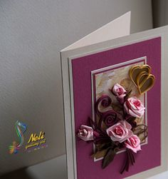 neli: Quiling cards - flowers